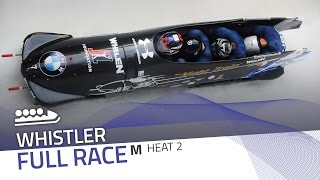 Whistler | BMW IBSF World Cup 2016/2017 - 4-Man Bobsleigh Heat 2 | IBSF Official