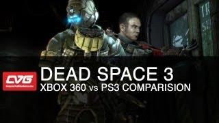 Dead Space 3 Xbox 360 vs PS3 Comparison