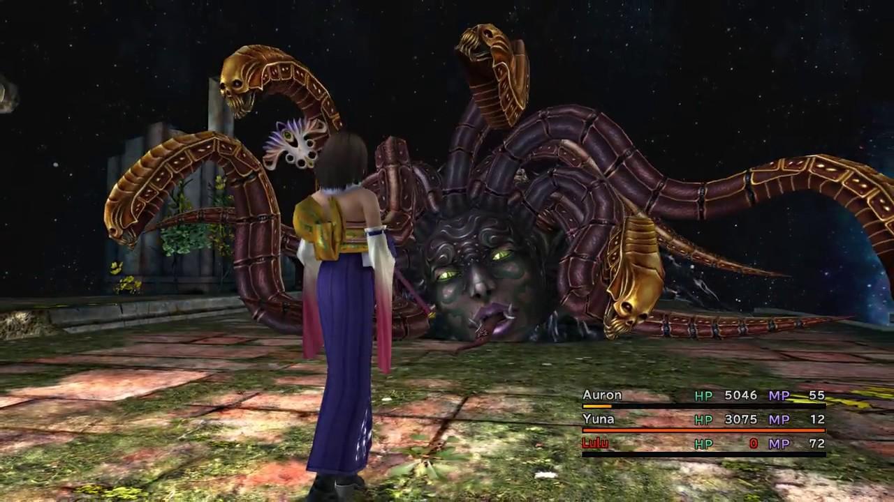 Yunalesca Boss - Final Fantasy X Remaster HD (PC) Gameplay ...