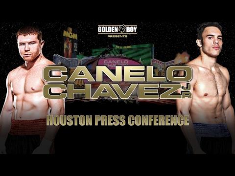 Canelo vs Chavez - Houston Press Conference