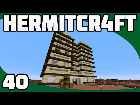 Hermitcraft 4 - Ep. 40: Law Office Levels!