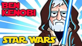 OBI-WAN KENOBI - STAR WARS Trilogy Speed Drawing - @Crunchlins