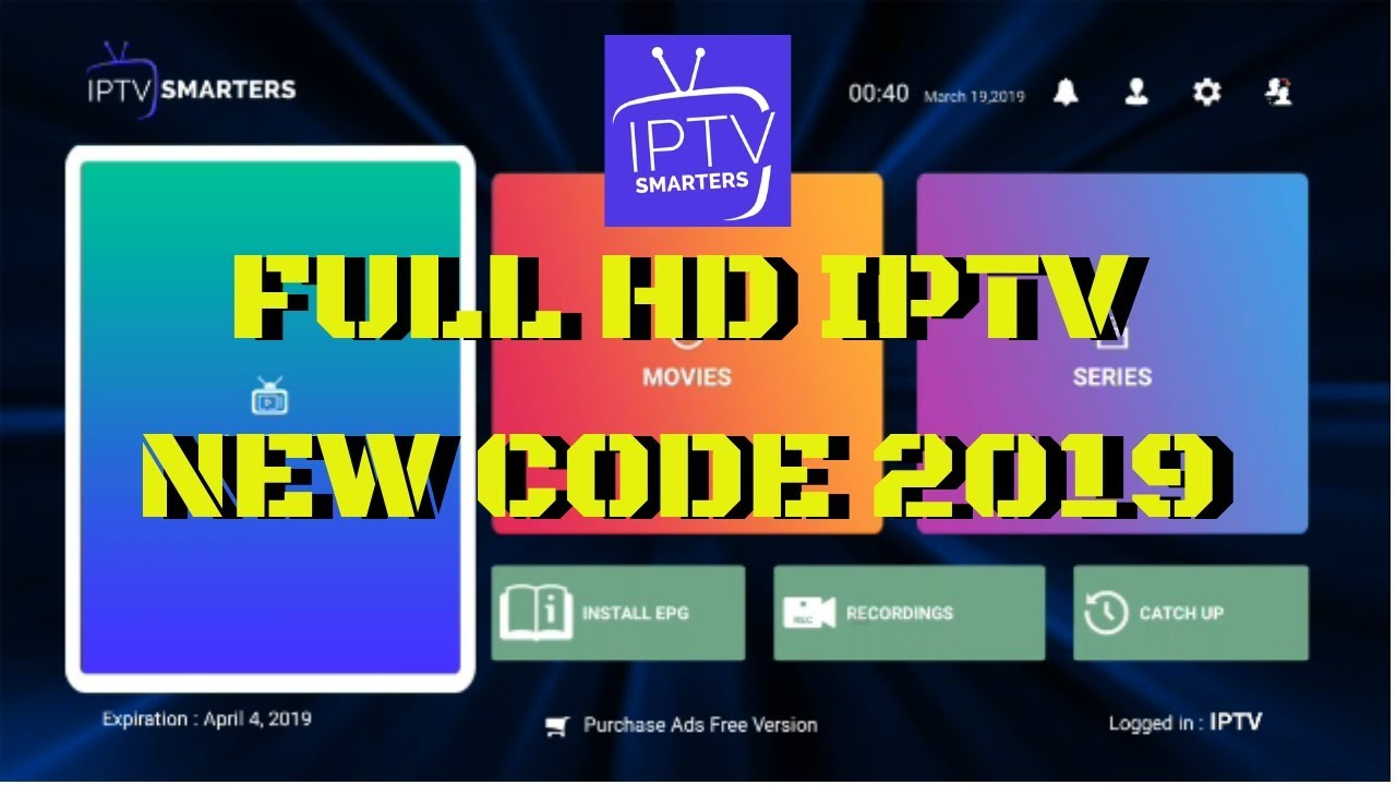 Iptv Smarters Pro For Android Ios Smart Tv Samsung