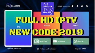 IPTV Smarters Pro for Android / IOS / Smart TV Samsung / LG WebOS
