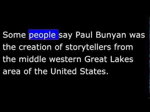 Paul Bunyan and Babe the Blue Ox - American Stories - VOA Special English