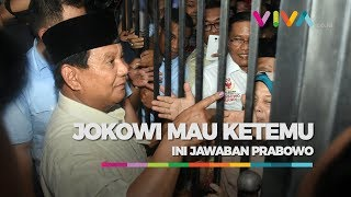 Download Jokowi Ingin Bertemu, Ini Jawaban Prabowo Mp3 and Videos