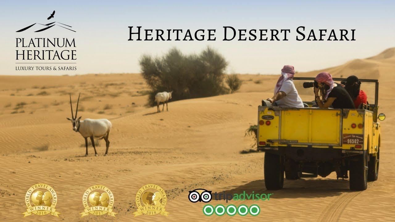 Dubai Desert Safari - Heritage Desert Safari 2018