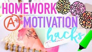Homework Motivation Hacks | WANT TO DO YOUR HOMEWORK!!!
