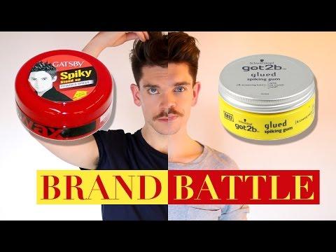 Got2B Glued Wax vs. Gatsby Styling Wax    Brand Battle