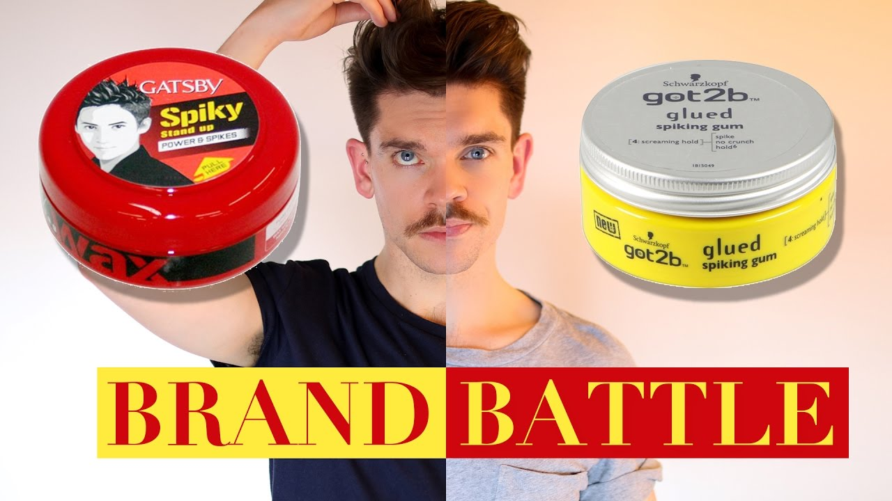 got2b glued hair styles got2b glued wax vs gatsby styling wax brand battle 4070 | maxresdefault