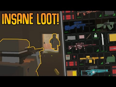 """""""INSANE LOOT!"""" Unturned BANDIT Survival - from NOTHING to MILITARY 