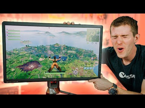 Gaming on the GOD of Monitors! - ASUS PG27UQ 4K 144Hz First Look