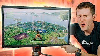 Fortnite on the GOD of Monitors!