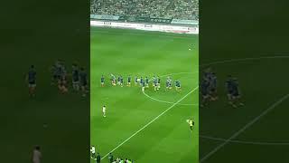 유벤투스 vs K리그 올스타전 k리그선수들 인사하는모습…