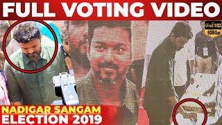 Baixar FULL VIDEO: Thalapathy VIJAY Voting at Nadigar Sangam Election 2019