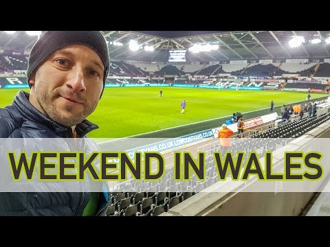 WEEKEND IN WALES | Rugby, football and party