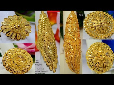 Gold Ring Designs Wedding Rings Gold Ring For Women Latest Gold Ring Youtube