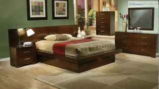 Jessica Platform Bedroom Collection From Coaster Furniture