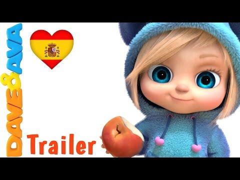 🍌 Manzanas y Bananas – Trailer | Сanciones Infantiles | Canciones Infantiles de Dave y Ava  🍎