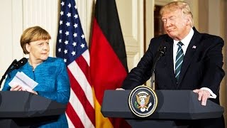 German Reporter Asks Trump Why He's So Crazy & Scared