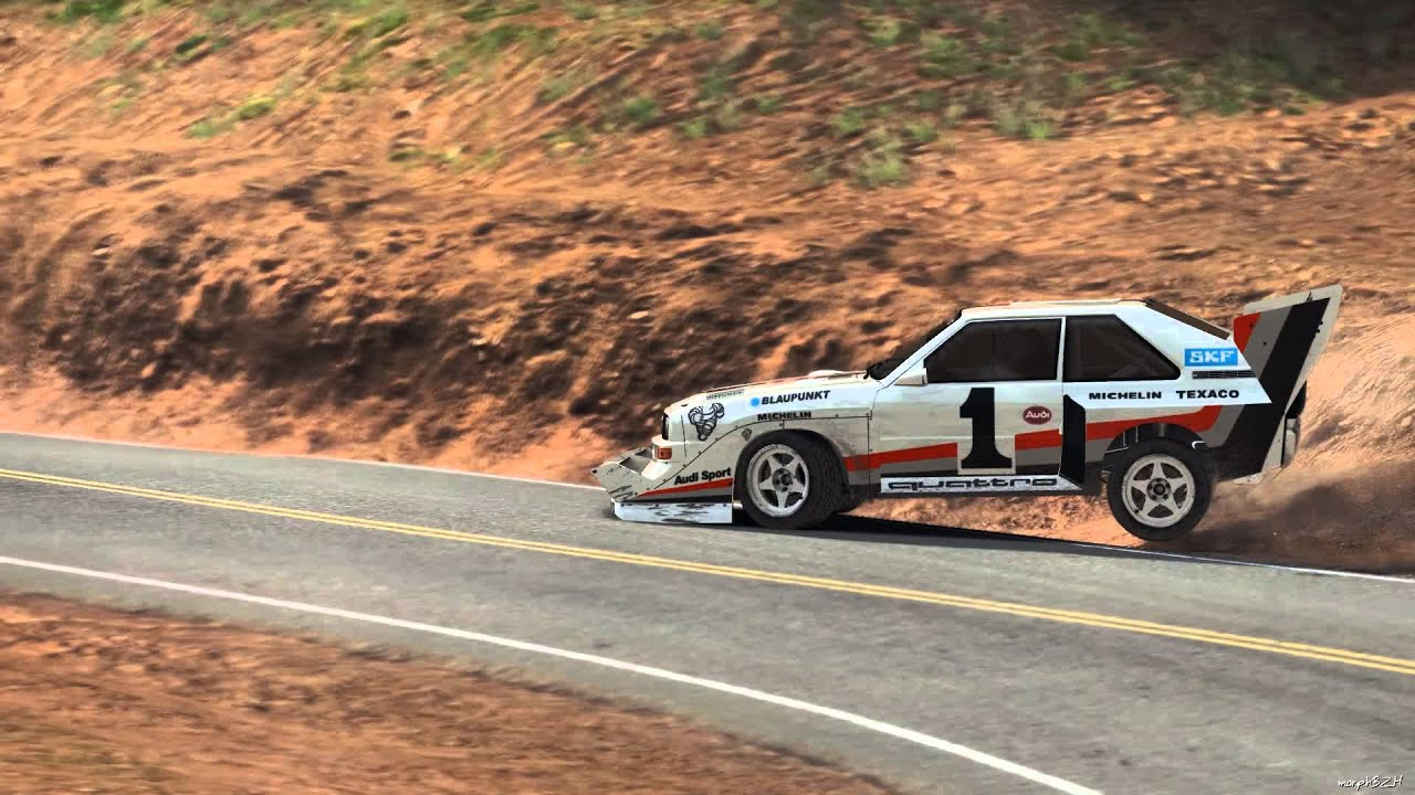 Dirt Rally Hill Climb Pikes Peak Full Race Audi