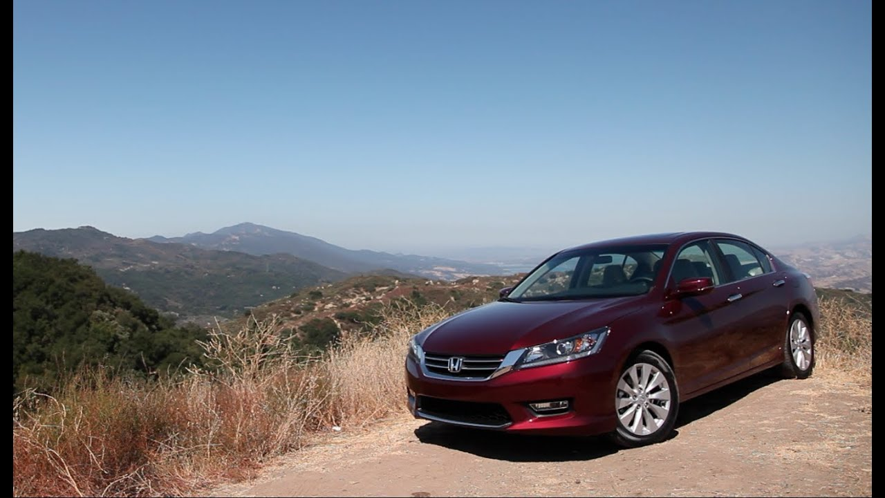 2013 Honda Accord Review The New Accord Is Good And It Knows It