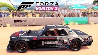 Ford Mustang Hoonigan no Jogo Forza Horizon 3 PC Gameplay