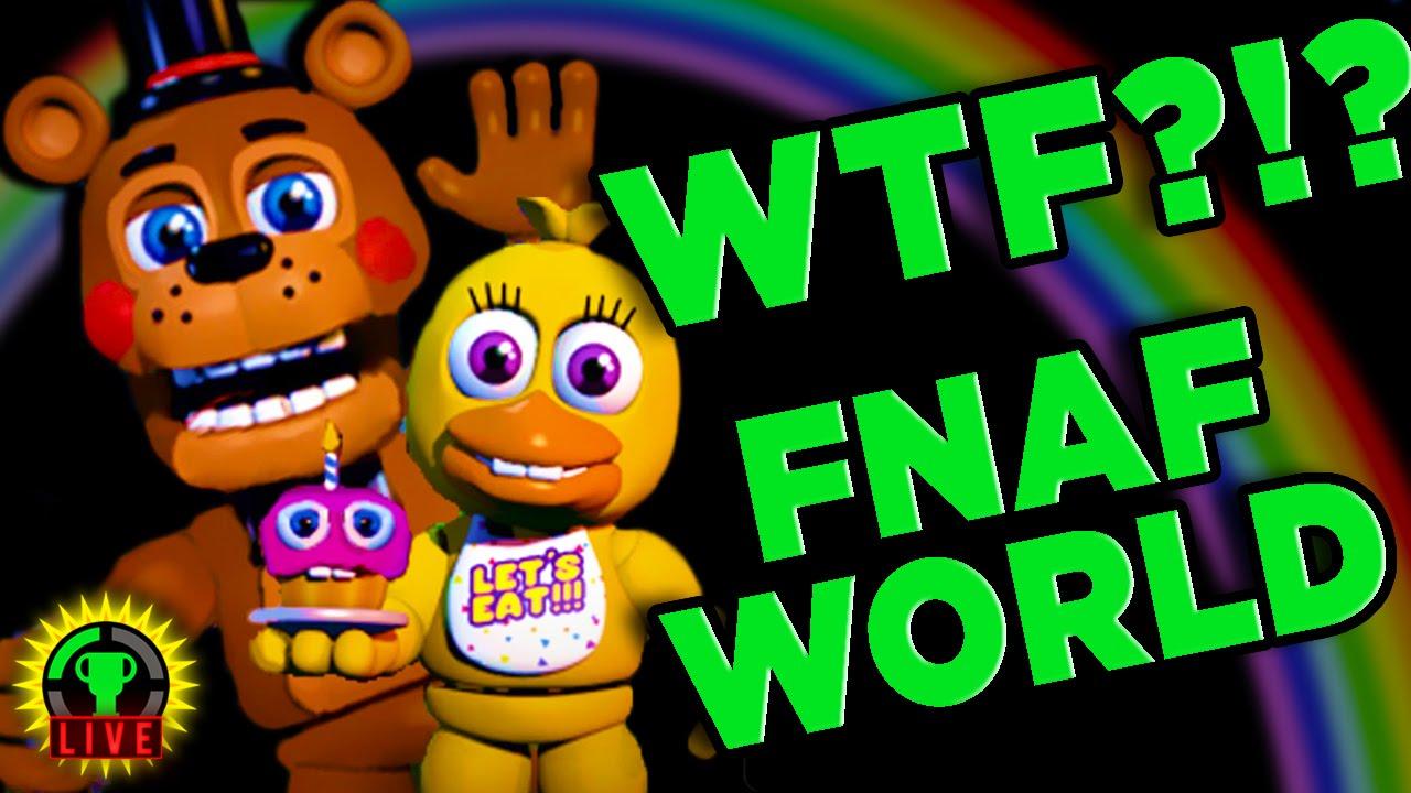 GTLive: FNAF WORLD - The CUTE is KILLING me - GTLive: FNAF WORLD - The CUTE is KILLING me
