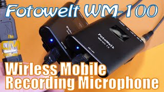 Fotowelt WM - 100 Test: Wireless Mobile Microphone - Lavalier Micro ...