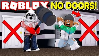NO DOORS CHALLENGE IN ROBLOX FLEE THE FACILITY!! (Roblox Livestream)
