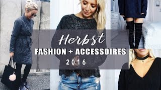 FASHION HAUL - TRY ON HAUL | Asos + H&M + Zara | Herbst 2016
