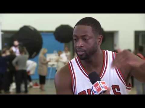 Dwyane Wade Media Day Interview   Chicago Bulls   September 26, 2016   2016 17 NBA Season