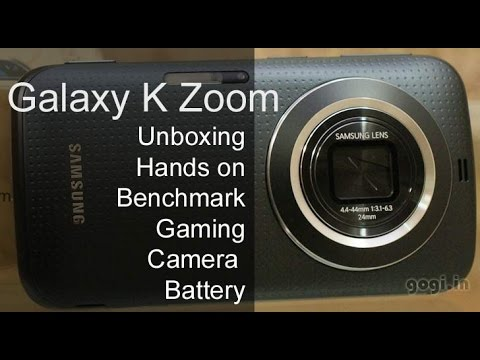 Samsung Galaxy K zoom review, gaming, camera performance and benchmark