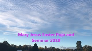 Gambar cover Shri Mary Jesus Puja, Easter Seminar and Marriages 2019