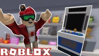 My Very Own Arcade!!! | Arcade Tycoon Beta | ROBLOX