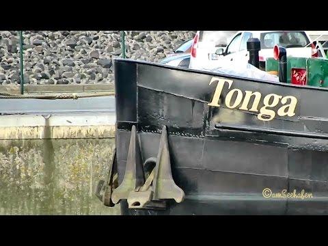 GMS TONGA ENI 04025770 Emden inland cargo ship merchant vessel Binnenschiff