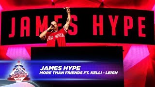 James Hype More Than Friends FT Kelli Leigh Live At Capital S Jingle Bell Ball 2017