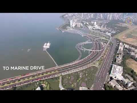 BMC shares its Coastal Road Project video for Mumbai