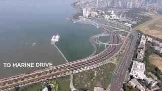 BMC shares its Coastal Road Project video for Mumbai