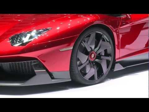 Lamborghini Aventador J At The 2012 Geneva Motor Show