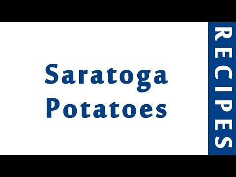 Saratoga Potatoes | RECIPES TO LEARN | EASY RECIPES
