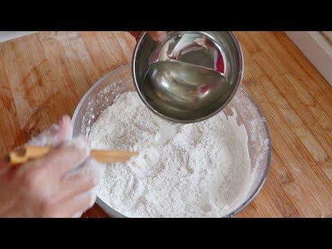 糯米粉开水一烫,1斤糯米粉不够吃,全家人抢着吃