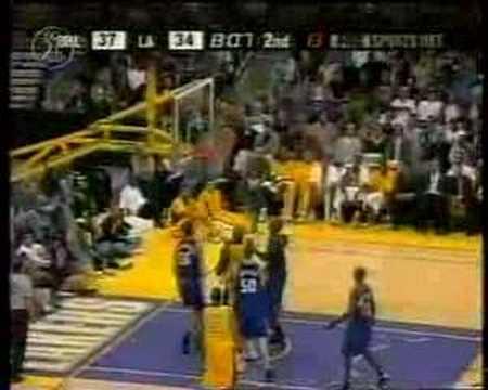 Kobe amazing hangtime move from 2001-02 season