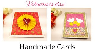 Handmade card for Valentine