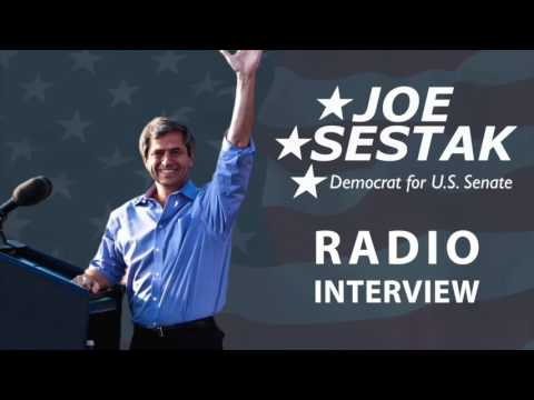 Admiral Joe Sestak Discusses Iran, ISIS, and China with WCED Radio