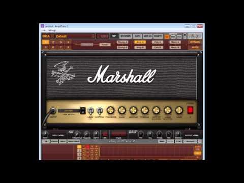 Amplitube 3 Demo - Marshall JCM800, 900, Slash AFD/JCM, Mesa Boogie Rectifier & MarkIII