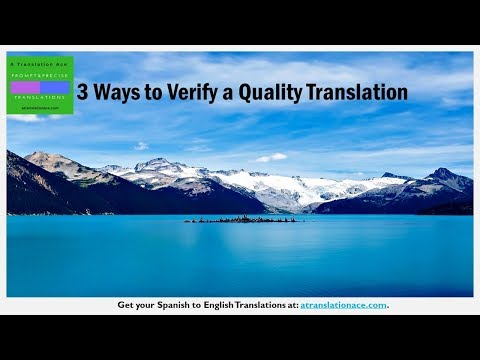 3 Ways to Verify a Quality Translation