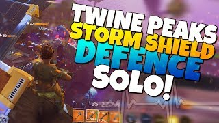SOLOING Twine Peaks SSD WHAT COULD POSSIBLY GO WRONG? | Fortnite Save The World