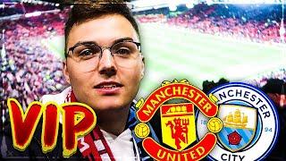 Als VIP beim Manchester Derby! United gegen City Stadion VLOG