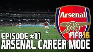 FIFA 16 | Карьера за Арсенал #11 [Что-то пошло не так]